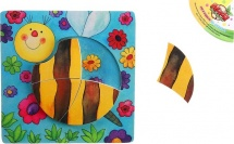 Рамка-вкладыш Лесная мастерская Пчёлка 4 детали