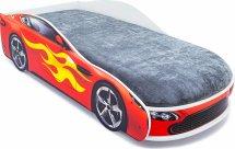 Кровать-машина Бондмобиль, красный