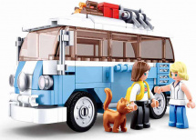 Конструктор Sluban Классический транспорт. Микроавтобус 227 деталей