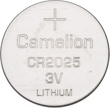 Батарейка Camelion CR2025 литиевая 1шт