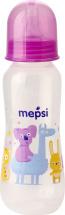 Бутылочка Mepsi Звери 250 мл, фиолетовый
