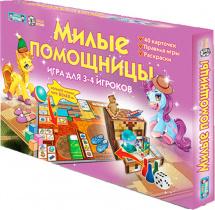 Настольная игра Добрые игрушки Милые помощницы + раскраски