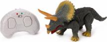 Динозавр Трицератопс со световыми и звуковыми эффектами радиоуправляемый