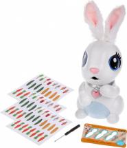 Интерактивный кролик Хрумчик со светом и звуком