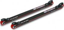 Лыжероллеры коньковые Shamov 00-1 62 см, колеса полиуретан 7,1 см