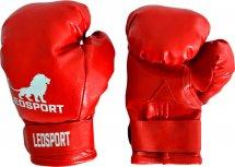 Перчатки боксерские Leosport Классика на липучке 8 унций, красный