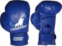 Перчатки боксерские Leosport Классика на липучке 8 унций, синий