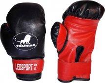 Перчатки боксерские Leosport Training 6 унций, красный