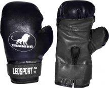 Перчатки боксерские Leosport Training 6 унций, черный