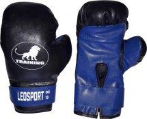 Перчатки боксерские Leosport Training 6 унций, синий