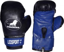 Перчатки боксерские Leosport Training 12 унций, синий