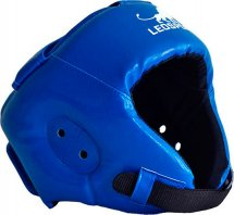 Шлем боксерский литой Leosport детский XS, синий
