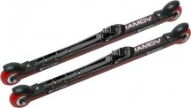 Комплект лыжероллеров Shamov 00-1, колесо: полиуретан 71 мм, для конькового хода, с креплениями Shamov N01 системы NNN