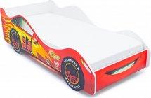 Комплект кровать-машина Тачка красная и матрас Гармония Микс-2 160х70