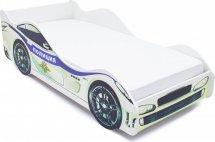 Комплект кровать-машина Полиция и матрас Гармония Эконом Д10 160х70