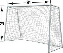 Сетка для мини-футбола 3х2х1 ниточная