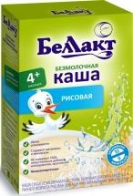 Каша Беллакт безмолочная рисовая с 4 мес 200 г
