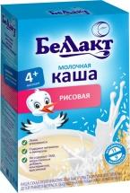 Каша Беллакт молочная рисовая с 4 мес 200 г
